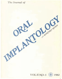 oral implantology article with dr. Niznick