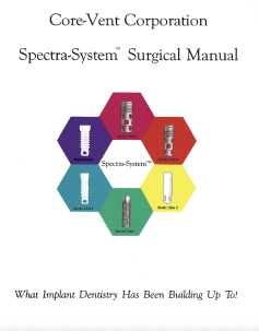 Core-Vent Spectra System         Surgical Manual