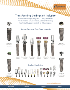 Implant Direct Sybron Transforming the Implant Industry