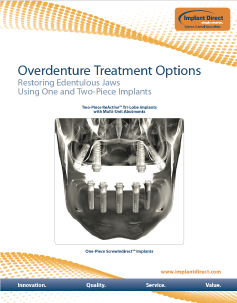 Implant Direct Sybron    Overdenture Treatment Options
