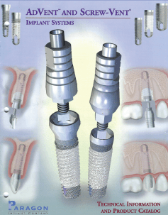 AdVent and ScrewVent                       Implant System