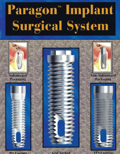 Paragon Implant           Surgical System